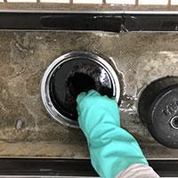 シャワーブース清掃