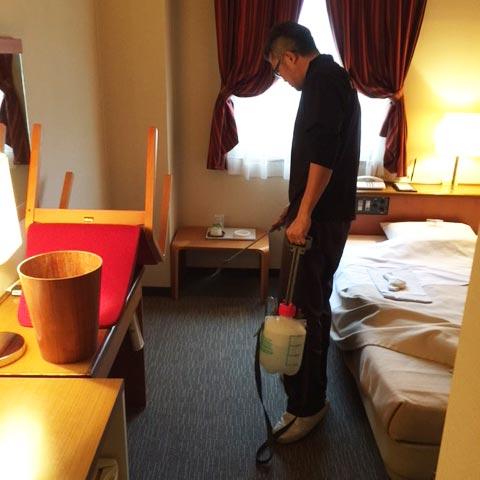 ホテル・旅館のカーペットクリーニング