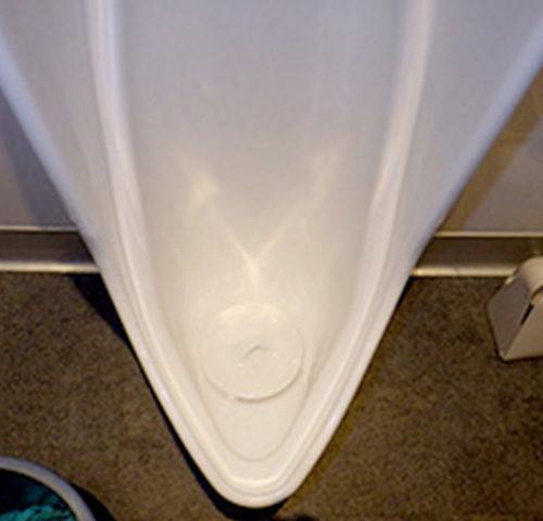 トイレ便器薬品洗浄
