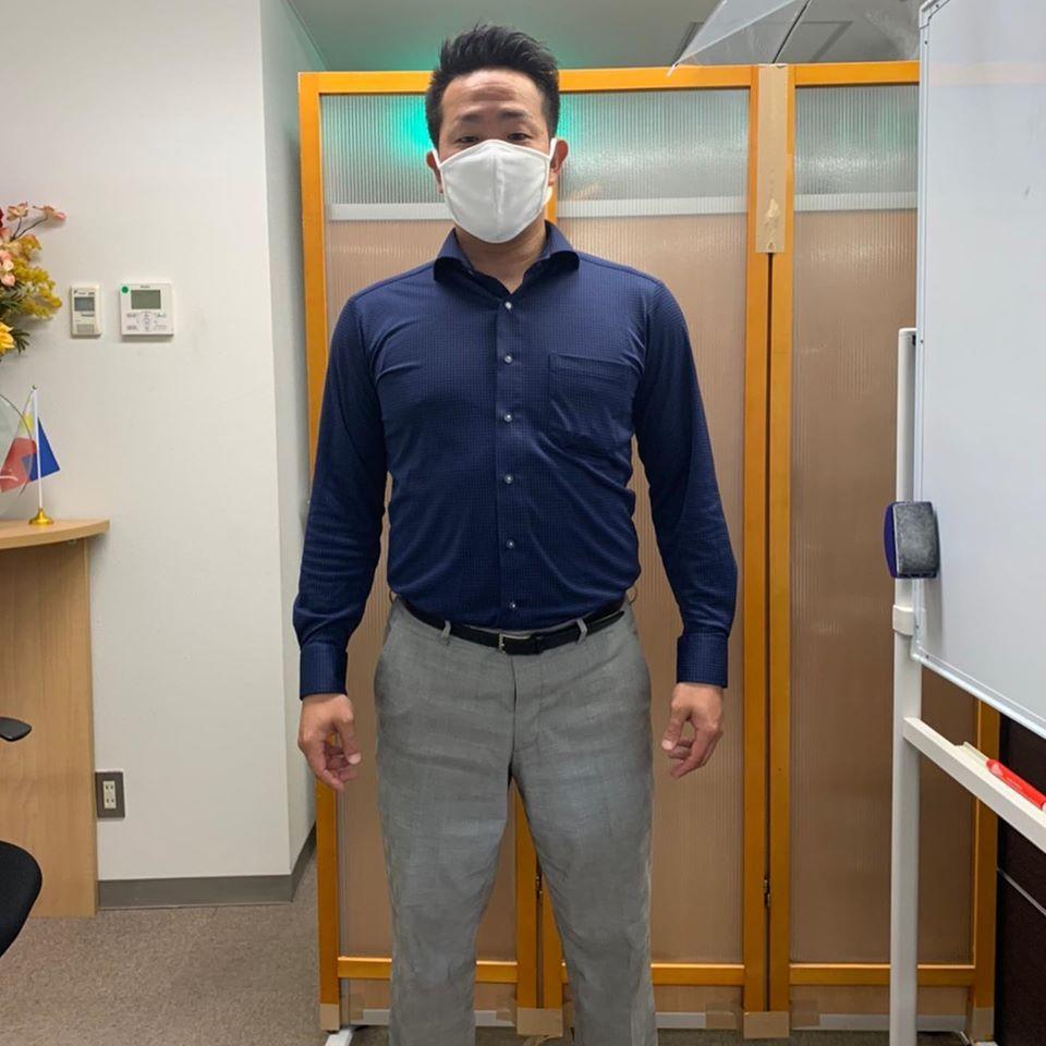 洗えて繰り返し使える布製マスク。